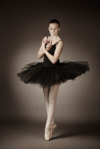 We have ammassed a collection of tutus and skirts of different sizes and colours for the girls to wear.
