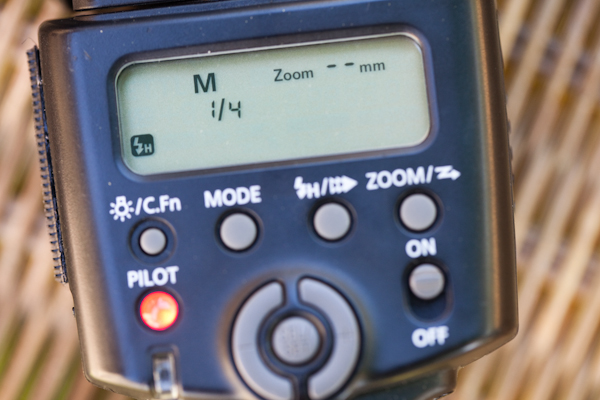 Here are the settings on my 430 EX2 flash.