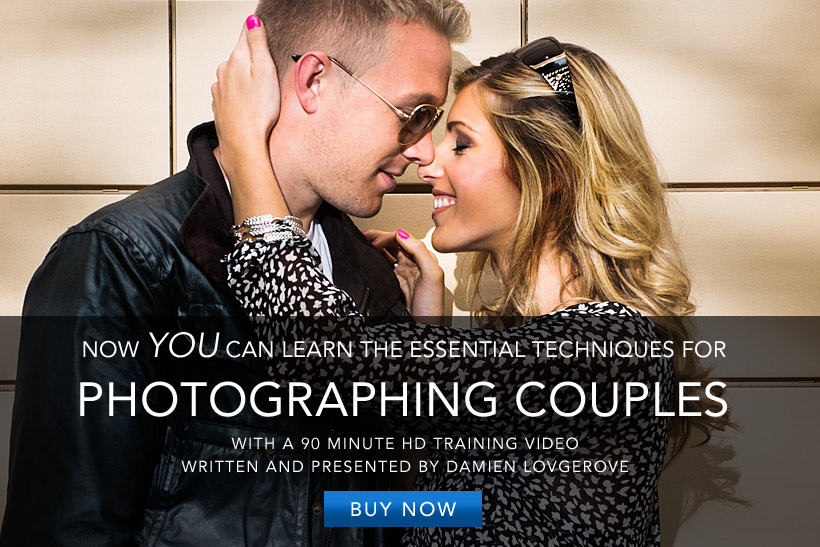 Photographing Couples Video Tutorial by Damien Lovegrove