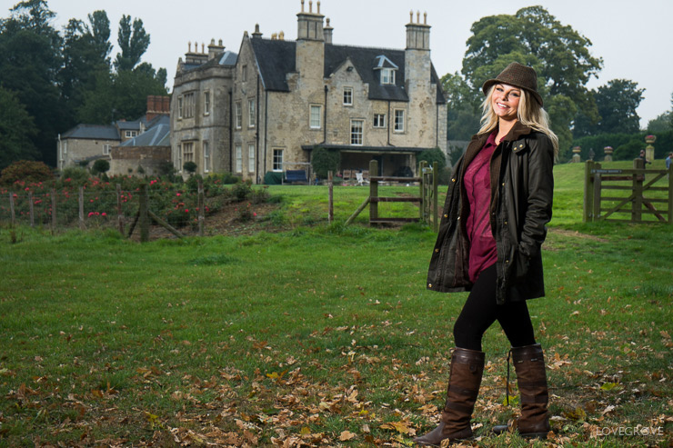 13. The lady of the manor for a 'Country Life' type editorial was lit with an Elinchrom Quadra and a Lastolite Ezybox.