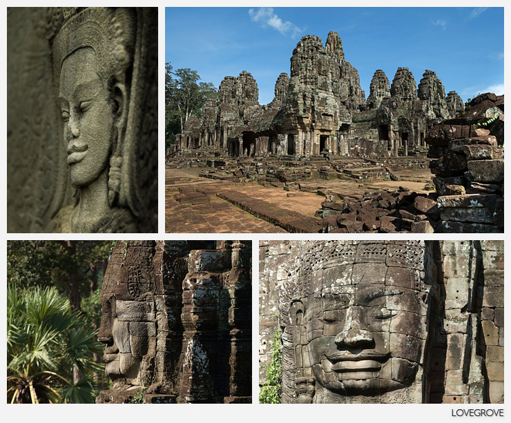 01. The magical Bayon temple in Angkor Thom is a highlight not to be missed on any tour of Cambodia.