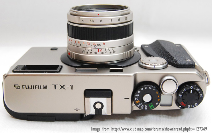 Here is a picture to show where the X-Pro1 DNA and styling originated and the name for the X-T1.
