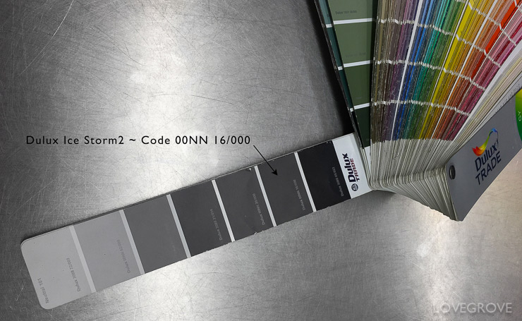 1. The Dulux trade swatch has all the colours one could ever wish for. The good news is colour id free. You can have any colour you like so the fab colours cost the same as the naff colours.