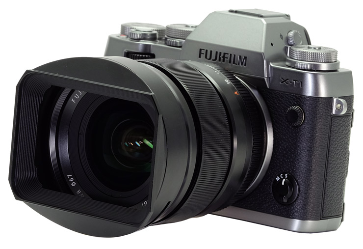 The new series of hoods for prime lenses will look like this one shown on the 16mm lens. These can't come soon enough as I for one will like using them. Design a good clip on cap for the front of the hood please Fujifilm.