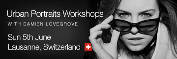 URBAN PORTRAITS WORKSHOP – LAUSANNE SWITZERLAND