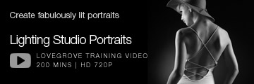 Lighting Studio Portraits - Lovegrove Photography Training Video