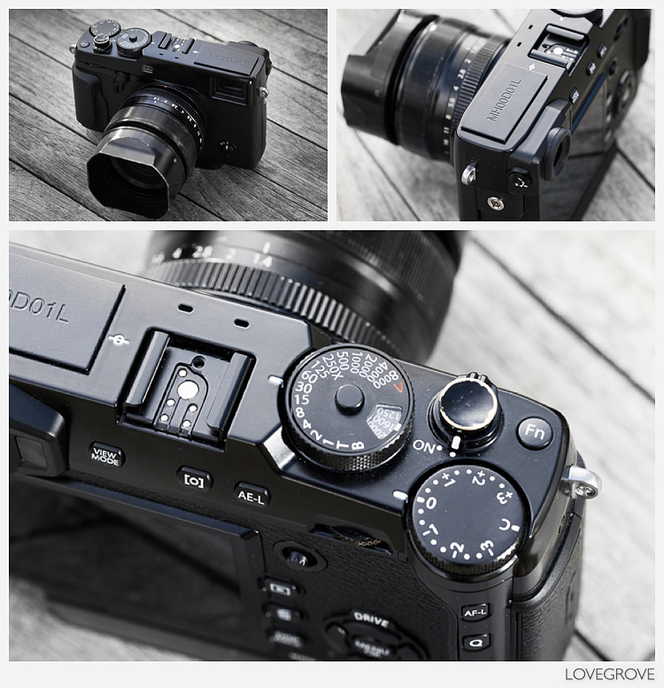 The Fujifilm X-Pro2 prototype camera