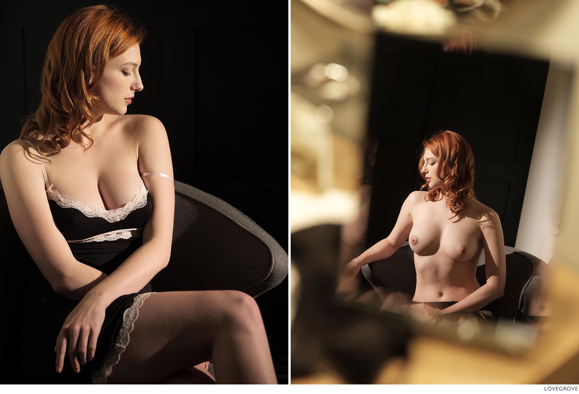 Claire Rammelkamp nude in the mirror