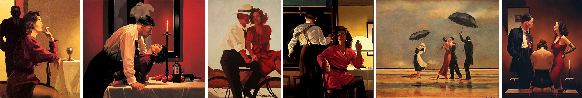 the paintings of Jack Vettriano