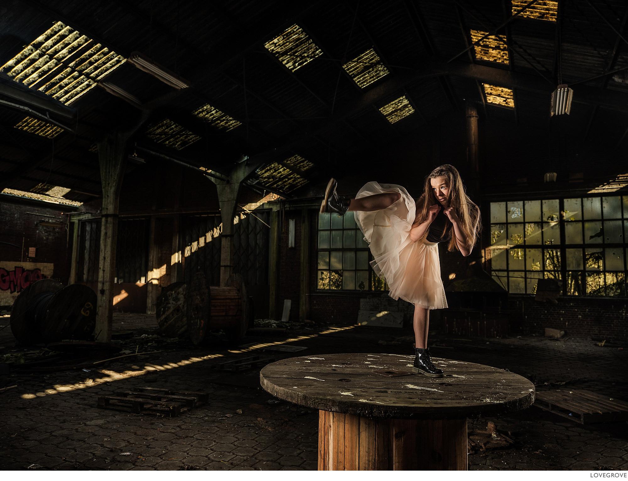Dancer Lana Verkest