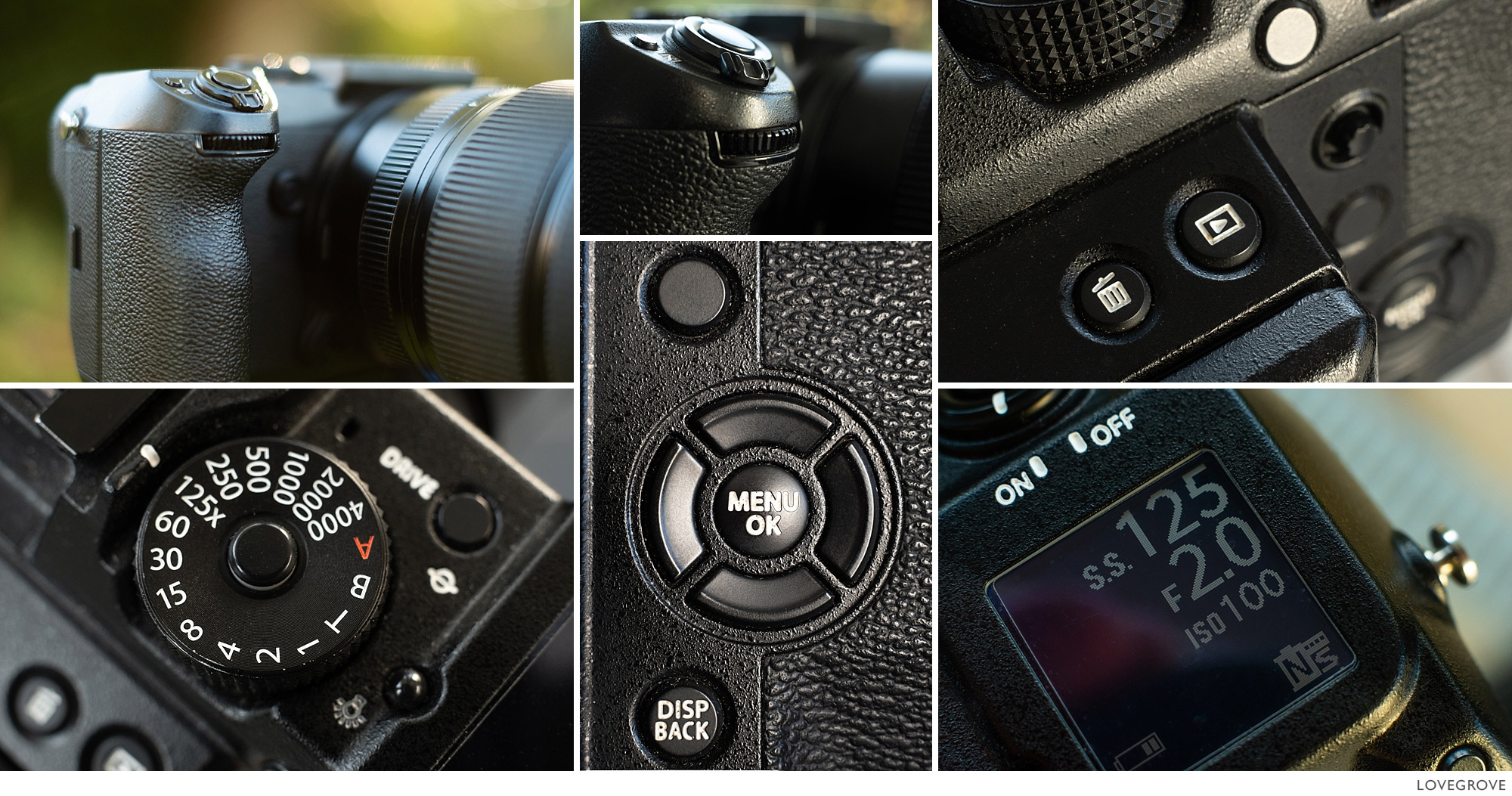 Fujifilm GFX50s and GFX50r settings and 30,000 frame review